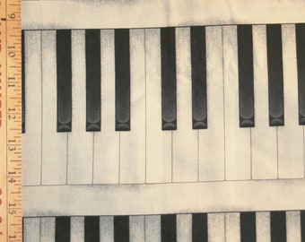 Piano Keys Panel-style Aloha Shirt handsewn to order by Dottykins in your special size