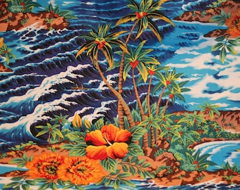 Tropical Islands Aloha style Shirt handsewn to order by Dottykins in your special size