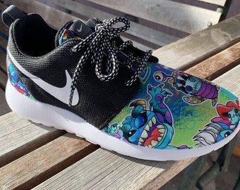 Lilo and Stitch Costume Inspired Custom Nike Roshe Run Women 12568a52fb3a