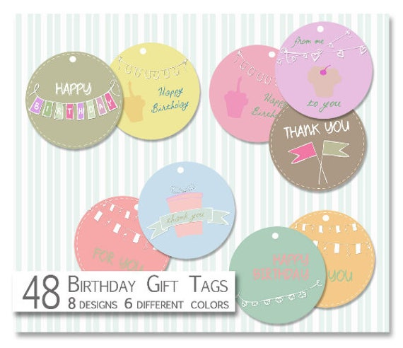 photograph relating to Printable Birthday Gift Tags named Printable Birthday Tags-Get together Tags-Electronic Reward Tags-Sbooking Tags-Birthday Present Tags- Thank by yourself Tags-Get together Desire Tags-Quick Down load