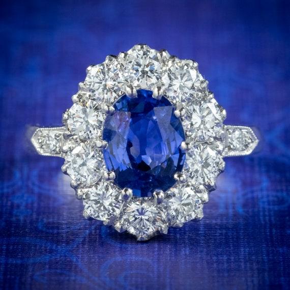 Size 6.5 Vintage Ring 14K Rose GoldSterling Silver Ring Edwardian Style Genuine .84ctw Pink Sapphire /& Diamond