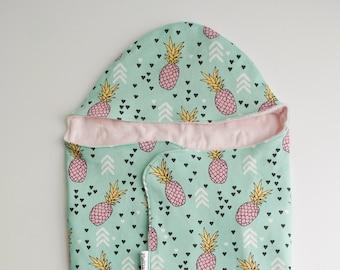 """Baby Sleeping Bag """"pineapple"""""""