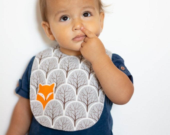 "Featured listing image: Maxi bib ""Little Fox"""