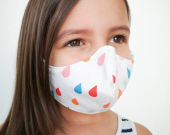 """""""COLORED RAIN"""" filter pocket mask Available in all sizes"""