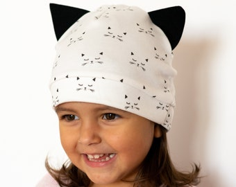 """Meow"" Organic cotton cap"