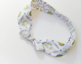 "Hair band for baby or mother ""Spring"""