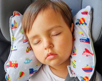 "Ergonomic pillow for children ""transport"""