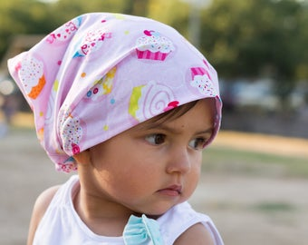 "Bandana for girls ""muffins"""