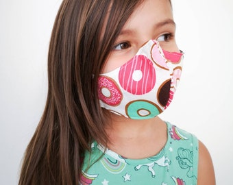 """Donuts"" filter pocket mask Available in all sizes"