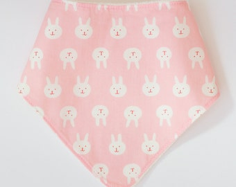 "Bandana with absorbent sponge ""bunnies"""