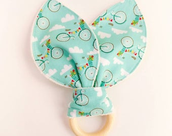 "Teether Ring-teething ring ""bicycles"""