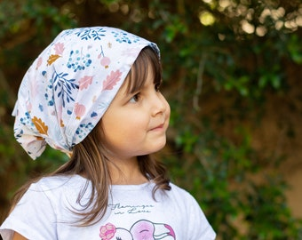 "Bandana for girls ""memories of the Woods"""