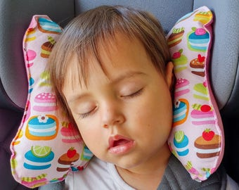 "Ergonomic pillow for children ""sweets"""