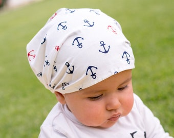 "Bandana for children ""anchors"""