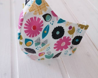 """""""Maxi Flowers"""" Filter Pocket Mask Available in all sizes"""