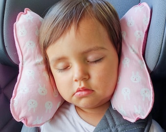 """Ergonomic pillow for children """"bunnies"""""""