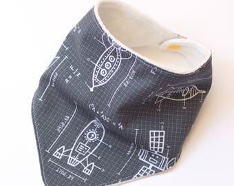 "Bandana with absorbent sponge ""small designer"""