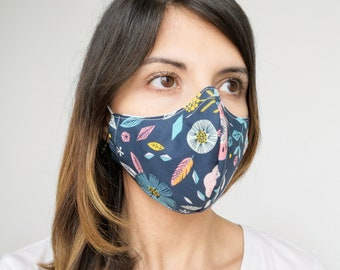 """BOHO BLU"" filter pocket mask Available in all sizes"