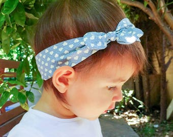 "Hair band for baby or for Mommy ""hearts"""