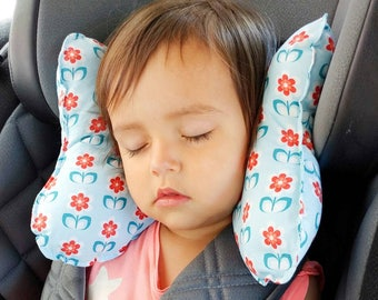 "Ergonomic pillow for children ""Flowers"""