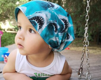 "Bandana for Baby ""the Shark"""