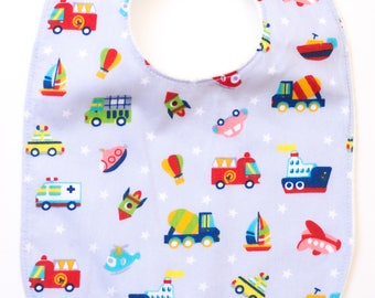 "Maxi bib ""Toy Cars"""