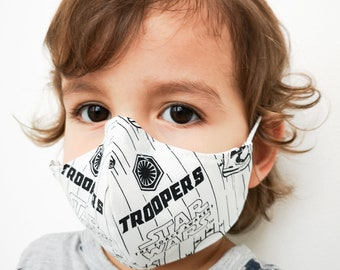 """""""STAR WARS TROOPERS"""" filter pocket mask Available in all sizes"""