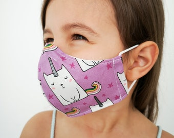 """UNICORN CATS"" filter pocket mask Available in all sizes"