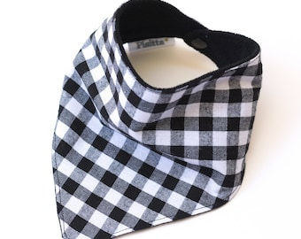 "Bandana with absorbent sponge ""B & W"""