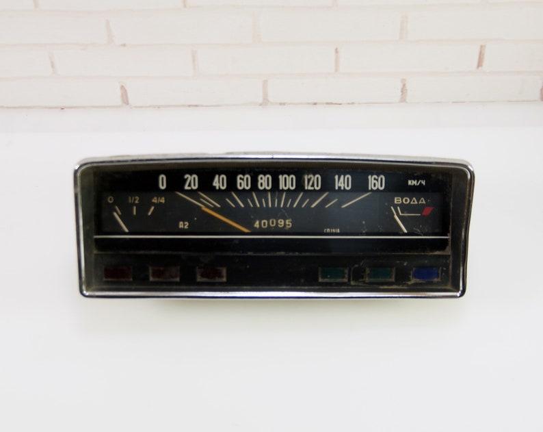 Tacho gauge teile vintage alte sowjetische auto vaz etsy