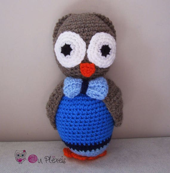 Crochet Owl Family Amigurumi Pattern - Repeat Crafter Me | 581x570