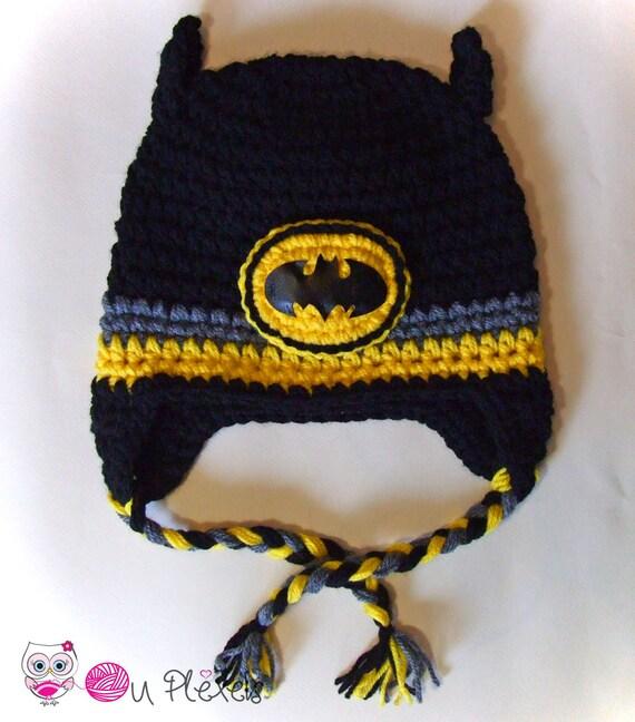 Häkeln Sie Batman Hut Batman Beanie jungen Hut Kleinkind   Etsy