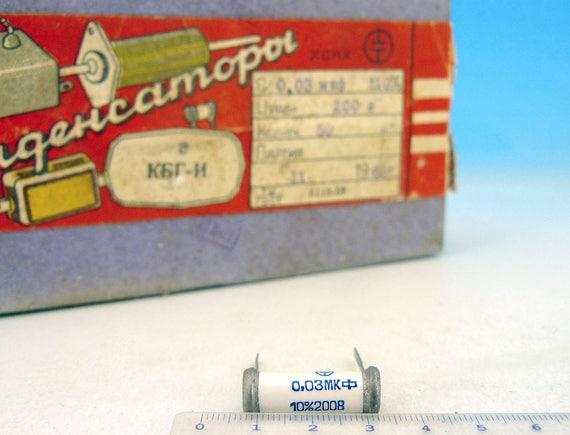 2 uf 630 V Lote de 2 capacitores de audio Pio papel ruso mbgo мбго 2