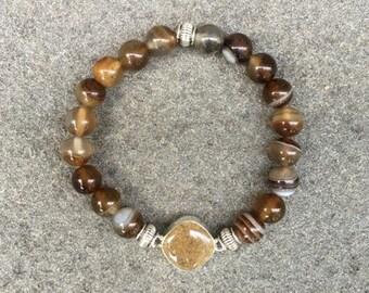 Sardonyx Shore Line Sand Bracelet