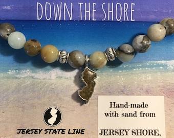 Shore Line New Jersey Sand Bracelet