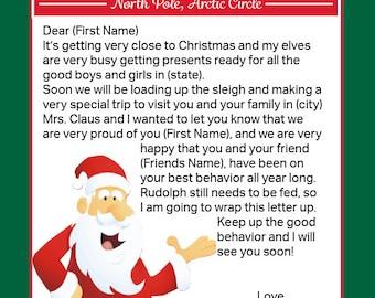 Letter From Santa