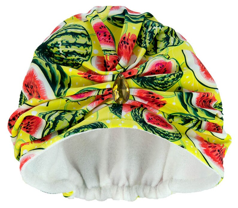 53526f2570 Watermelon Towelling Turban | Etsy