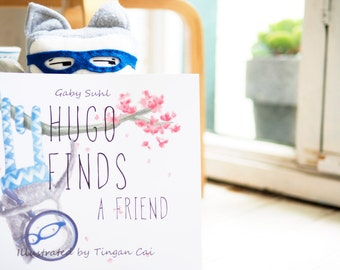 Hugo Finds a Friend - children's  story book