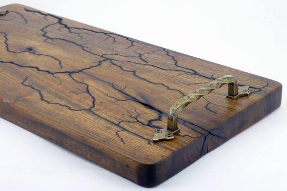 Liefde Walnoot Hout : Lichtenberg figuren massief walnoot hout rustieke handgemaakte etsy