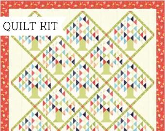 Family Tree Quilt Pattern Kit - Clover Hollow Quilt Kit - Sherri & Chelsi - Moda Fabric - Quilt Kit - Moda Collector's Box - Quilt Pattern