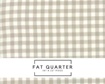 Fat Quarter   Woodland Secrets Fabric - Tan Plaid Fabric - Shannon Gillman Orr - Moda Fabric - Plaid Fabric - Gingham Fabric