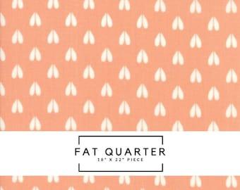 Fat Quarter   Woodland Secrets Fabric - Peach Deer Hoof Fabric - Shannon Gillman Orr - Moda Fabric - Deer Fabric - Outdoor Fabric