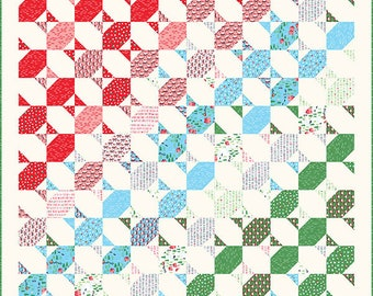 "Twinkle Twinkle Quilt Pattern - Stacy Iest Hsu - Moda Fabrics - Quilt Pattern - 60"" x 64.5"" quilt"