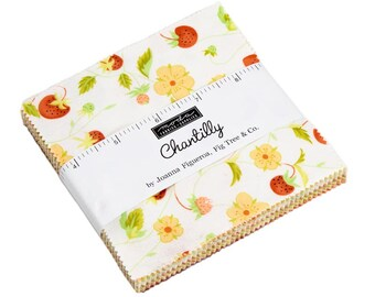 Chantilly Charm Pack - Fig Tree & Co - Moda Fabric - Fabric Bundle - Moda Charm Pack - 42 pieces