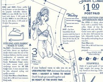 White Dressmaking Fabric - Vintage Happy 2 - Lori Holt
