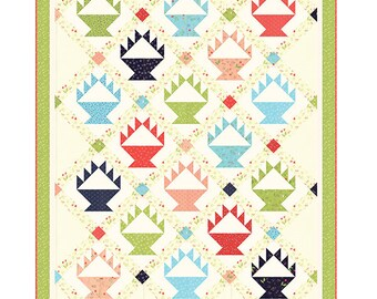 Quilt Pattern - Berry Baskets Quilt Pattern - Sherri McConnell