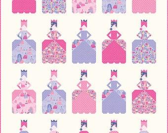 "Belle of the Ball Quilt Pattern - Stacy Iest Hsu - Moda Fabrics - Quilt Pattern - 56"" x 73"" quilt"