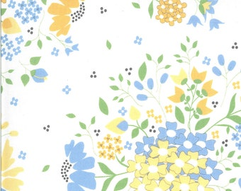 Spring Brook Fabric - White Hope Springs Fabric - Corey Yoder - Moda Fabrics - Floral Fabric - Flower Fabric - Sold by the Yard