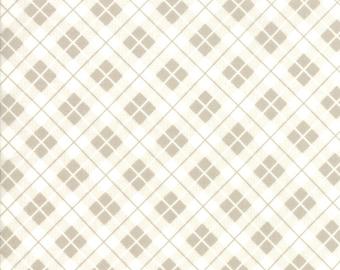Orchard Fabric - Tan Picnic Basket Fabric - April Rosenthal - Moda Fabric - Plaid Fabric - Geometric Fabric - Sold by the Yard