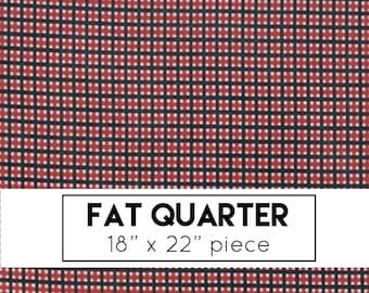 Fat Quater | Merry Starts Here Fabric - Red & Black Christmas Plaid Fabric - Sweetwater - Moda Fabrics - Christmas Fabric